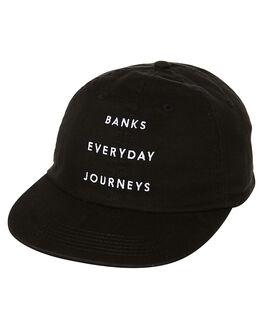 DIRTY BLACK MENS ACCESSORIES BANKS HEADWEAR - HA0051DBL