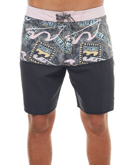 VINTAGE BLACK MENS CLOTHING BILLABONG BOARDSHORTS - 9572443VBC