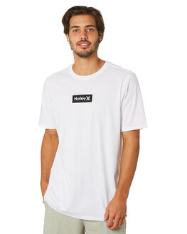 WHITE MENS CLOTHING HURLEY TEES - AJ1777100
