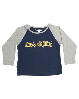 GREY NAVY KIDS TODDLER GIRLS SWEET CHILD OF MINE TEES - JSTCHLLTEEGRYNV