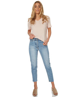 BLUE WOMENS CLOTHING CAMILLA AND MARC JEANS - CMD8113WBLU