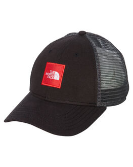 TNF BLACK TNF RED MENS ACCESSORIES THE NORTH FACE HEADWEAR - NF0A3FKXKX9