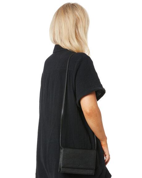 BLACK WOMENS ACCESSORIES RUSTY BAGS + BACKPACKS - BFL1081BLK