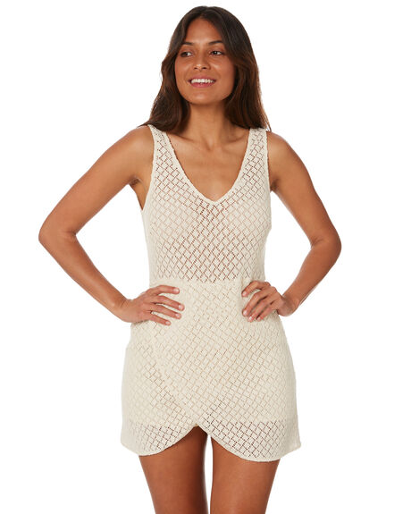 VINTAGE CREAM WOMENS CLOTHING RUSTY PLAYSUITS + OVERALLS - MCL0350VTC