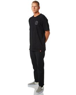 BLACK GREY MENS CLOTHING SPITFIRE TEES - OGCLASSBLKG