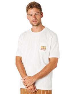 WHITE MENS CLOTHING RHYTHM TEES - NOV18M-SS03WHT