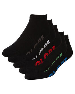 BLACK MENS CLOTHING GLOBE SOCKS + UNDERWEAR - GB71029003BLK