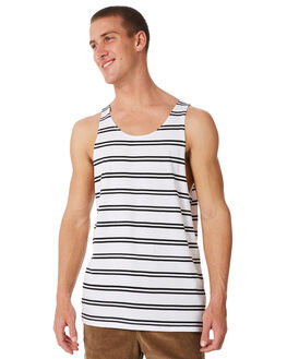 WHITE MENS CLOTHING SWELL SINGLETS - S5184275WHITE