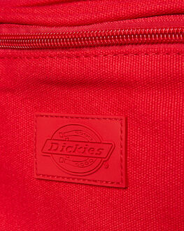 RED COTTON CANVAS MENS ACCESSORIES DICKIES BAGS + BACKPACKS - 06677RCC