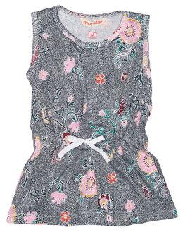 FLORALZ KIDS TODDLER GIRLS MUNSTER KIDS DRESSES - MM172DR25FLR