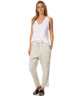 FLAX WOMENS CLOTHING ASSEMBLY PANTS - AS-SW1616FLX