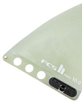 CLEAR BOARDSPORTS SURF FCS FINS - FPIV-PG02-LB-10-RCLR