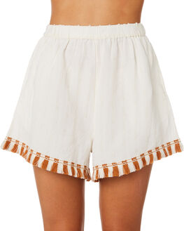 BLANC WOMENS CLOTHING TIGERLILY SHORTS - T391301BLN