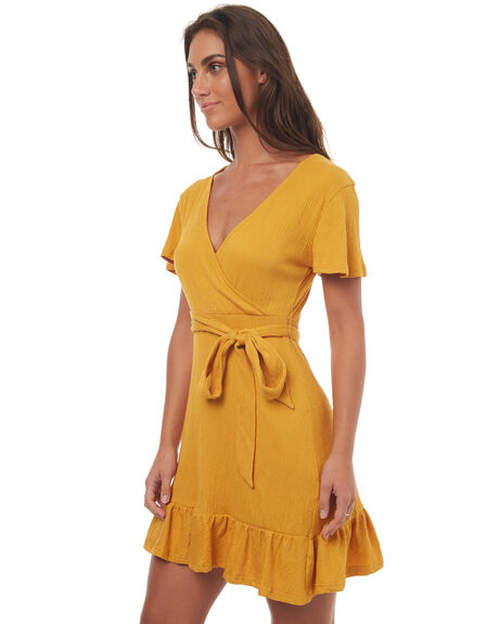 MUSTARD WOMENS CLOTHING SWELL DRESSES - S8171445MSTRD