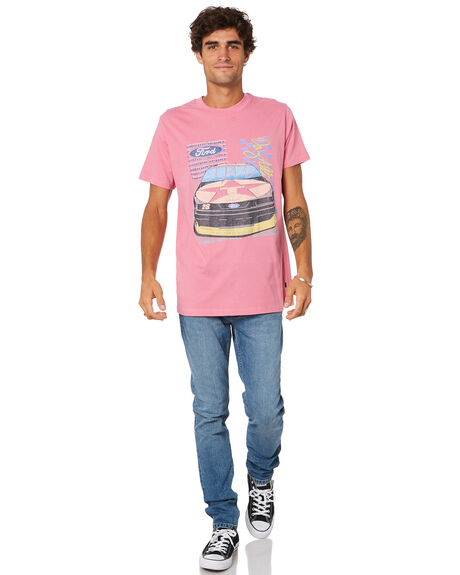 PINK MENS CLOTHING ROLLAS TEES - 16134500