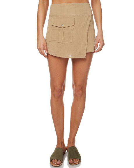 OLIVE OUTLET WOMENS ZULU AND ZEPHYR SKIRTS - ZZ1704OLI