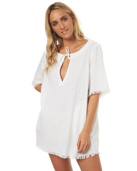 WHITE OUTLET WOMENS BILLABONG FASHION TOPS - 6571154WHT