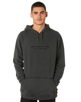 DIRTY BLACK MENS CLOTHING BANKS JUMPERS - WFL0177DBL