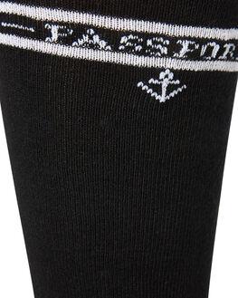 BLACK MENS CLOTHING PASS PORT SOCKS + UNDERWEAR - PP-HISXBLK
