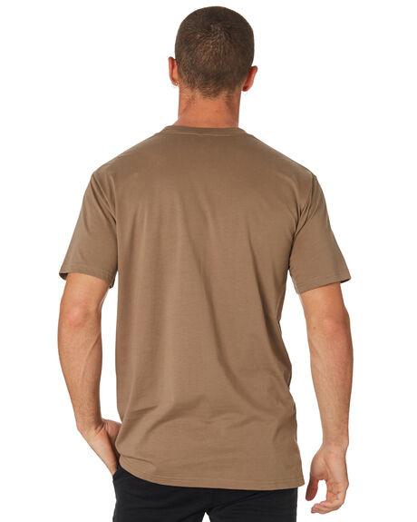 COFFEE MENS CLOTHING AS COLOUR TEES - 5026COFFE