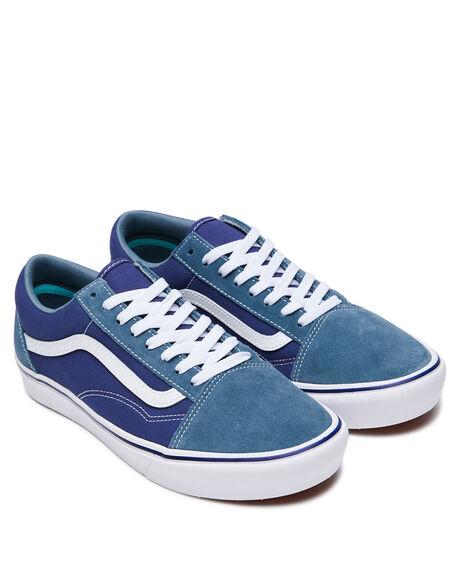 BLUE MENS FOOTWEAR VANS SNEAKERS - VN0A3WMAWX0BLU