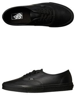 BLACK MONO MENS FOOTWEAR VANS SNEAKERS - SSVN-A38EMPXPBLKM