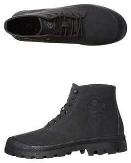 BLACK BLACK MENS FOOTWEAR KUSTOM BOOTS - 4978103BBLK