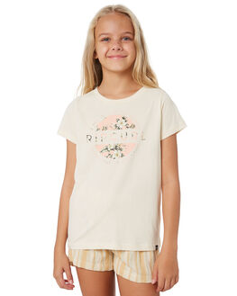 BEIGE KIDS GIRLS RIP CURL TOPS - JTEEE10001