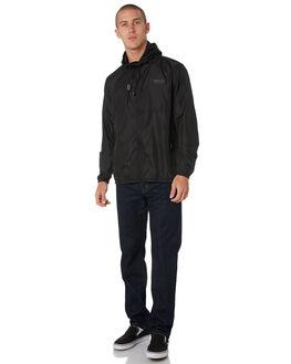 BLACK MENS CLOTHING DEPACTUS JACKETS - D5193381BLACK