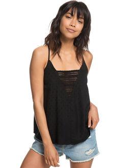 TRUE BLACK WOMENS CLOTHING ROXY FASHION TOPS - ERJWT03237KVJ0