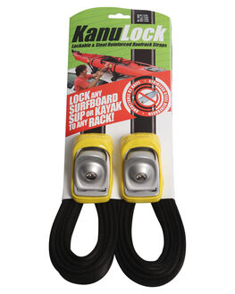 YELLOW BOARDSPORTS SURF KANULOCK BOARD RACKS - KNLT-40M-13FYEL