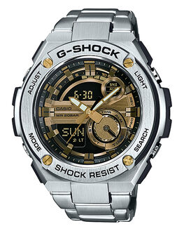 STAINLESS GOLD MENS ACCESSORIES G SHOCK WATCHES - GST210D-9ASTGLD