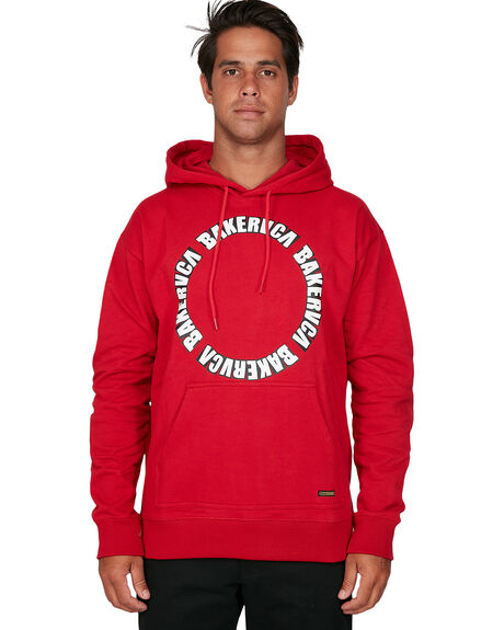 BRIGHT RED MENS CLOTHING RVCA JUMPERS - RV-R306151-BE3
