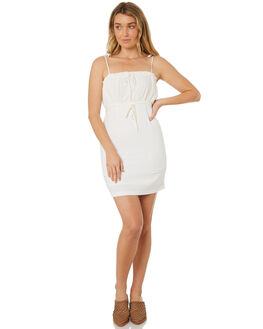 WHITE WOMENS CLOTHING MINKPINK DRESSES - MP1804551WHT