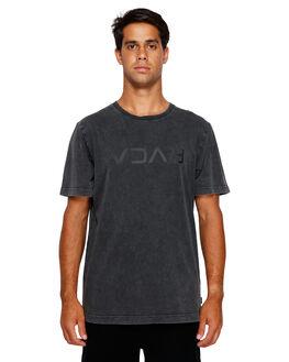 BLACK ACID MENS CLOTHING RVCA TEES - RV-R191046-252