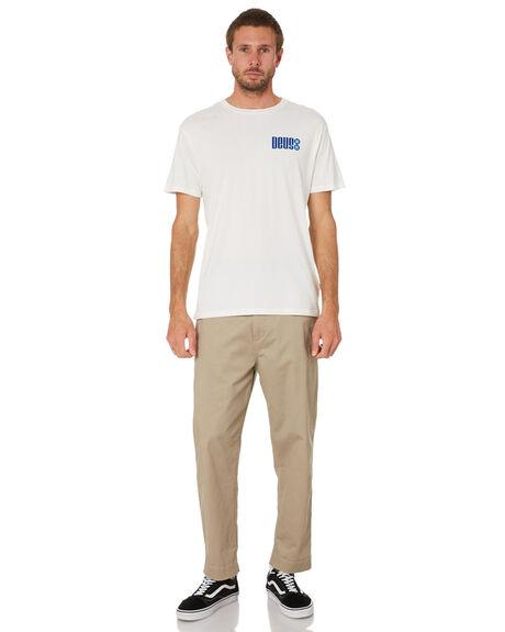 VINTAGE WHITE MENS CLOTHING DEUS EX MACHINA TEES - DMW2011251DVWHT