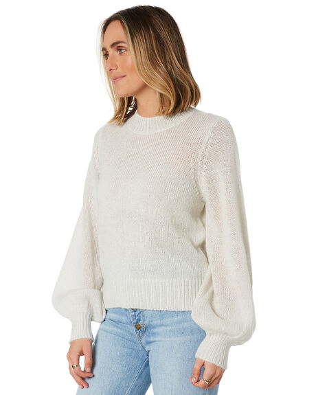 VINTAGE WHITE WOMENS CLOTHING ROLLAS KNITS + CARDIGANS - 13557VWHT