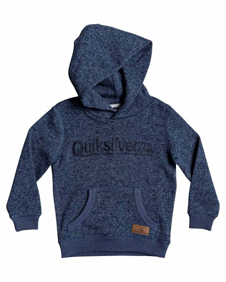 BLUE NIGHTS HEATHER KIDS BOYS QUIKSILVER JUMPERS + JACKETS - EQKFT03307-BSTH