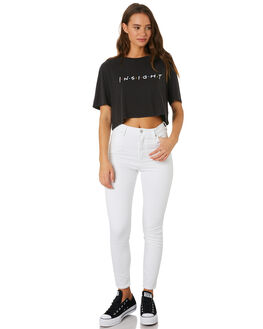 BLACK WOMENS CLOTHING INSIGHT TEES - 5000003553BLK