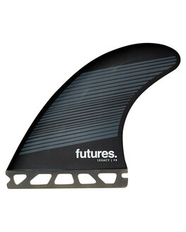 GREY BLACK BOARDSPORTS SURF FUTURE FINS FINS - 1175-160-50GRYBK