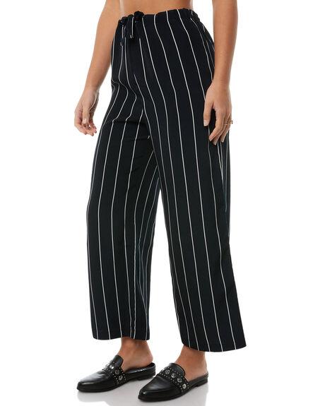 NAVY STRIPE WOMENS CLOTHING RVCA PANTS - R283271NAVY