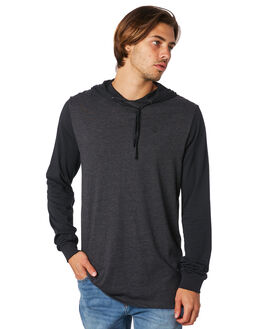 CHARCOAL HEATHER MENS CLOTHING VOLCOM TEES - A5111700CHH