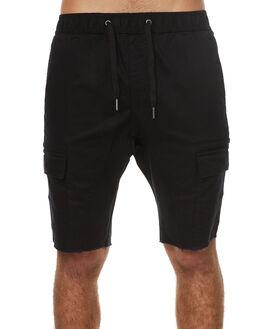 BLACK MENS CLOTHING ZANEROBE SHORTS - 607-TDKBLK