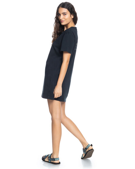 BLACK WOMENS CLOTHING QUIKSILVER DRESSES - EQWKD03006-KVJ0