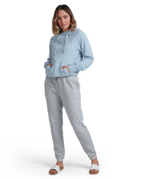 DUSTY BLUE WOMENS CLOTHING BILLABONG JUMPERS - BB-6517201-BC3