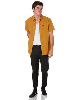 MAIZE MENS CLOTHING BRIXTON SHIRTS - 01099MAIZE