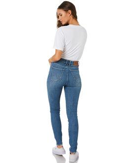 SMALL TALK BLUE WOMENS CLOTHING WRANGLER JEANS - W-951337-KT6