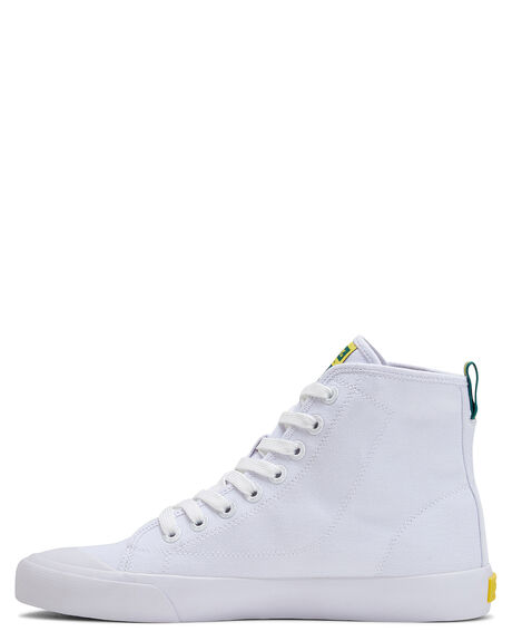 WHITE WHITE  MENS FOOTWEAR VOLLEY SNEAKERS - V74009IO1