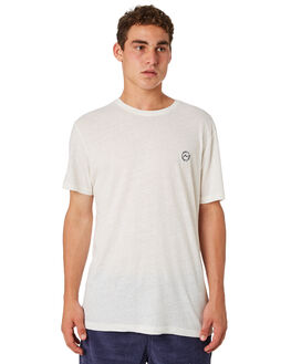 WHITE MENS CLOTHING RUSTY TEES - TTM2248WHI