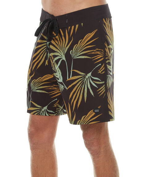 BLACK MENS CLOTHING SWELL BOARDSHORTS - S5174245BLK
